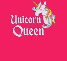 Unicorn Queen Womens Fitted T-Shirt