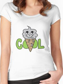 COOL CONE Women's Fitted Scoop T-Shirt