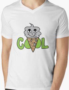COOL CONE Mens V-Neck T-Shirt