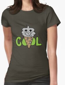 COOL CONE Womens Fitted T-Shirt