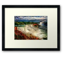 The Falls of Niagara Framed Print
