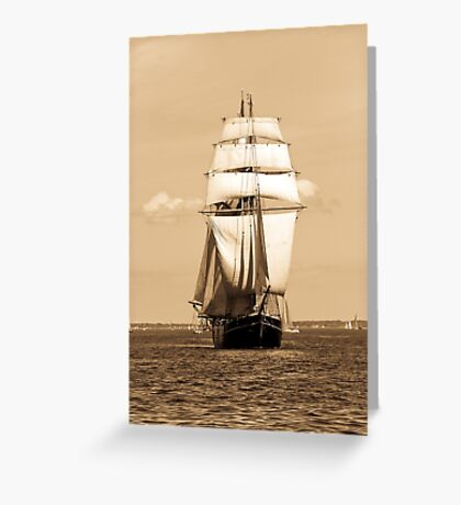 Sailing Baltic Sea Greeting Card