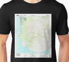 USGS TOPO Map Hawaii HI Makena 349561 1995 24000 Unisex T-Shirt