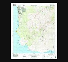 USGS TOPO Map Hawaii HI Makena 349561 1995 24000 Unisex T-Shirt