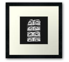 FAB FOUR EYES  Framed Print