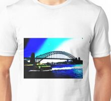 Sydney Harbour Bridge 8 Colour Unisex T-Shirt
