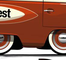 VW Camper Van Shorty Sticker
