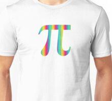 Colorful Pi Unisex T-Shirt