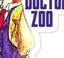 Doctor Zoo: Zootopia/Doctor Who Nick Wilde Crossover Sticker