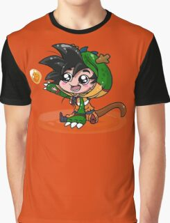 Lil' Dragon Goku Graphic T-Shirt