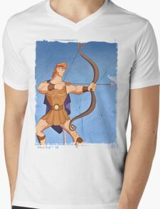 Hercules Mens V-Neck T-Shirt