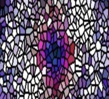stain glass/jpcool79 Sticker