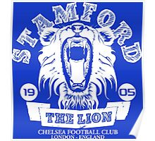 Chelsea FC Stamford The Lion Poster