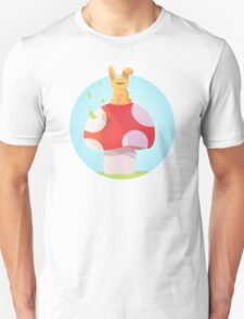 Cute Bunny Kids Design Unisex T-Shirt