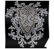 Celtic Crest Poster