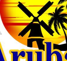The Netherlands Antilles, Aruba Sticker