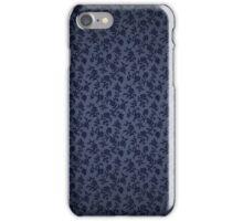 Dark flower texture iPhone Case/Skin