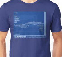 Star Trek - NCC-1701-D Side View Unisex T-Shirt
