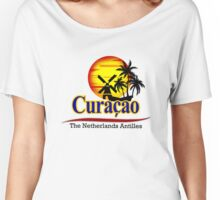 The Netherlands Antilles, Curacao Women's Relaxed Fit T-Shirt