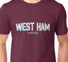 West Ham Football - Soccer Design Unisex T-Shirt