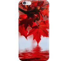 Red Ahorn iPhone Case/Skin