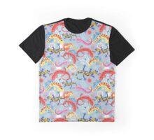 Graphic pattern Beautiful salamander Graphic T-Shirt