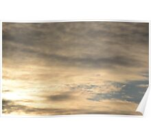 dawn sky background Poster