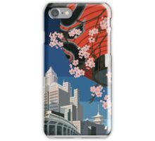 Come to Tokyo 1930s Travel Poster (PD) iPhone Case/Skin