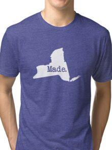 New York Home NY Made NYC  Tri-blend T-Shirt