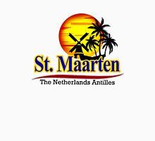 St. Maarten, The Netherlands Antilles Women's Fitted Scoop T-Shirt