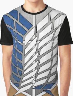 Scouting Legion - Attack on Titan cosplay - alternate version Graphic T-Shirt