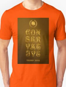 Trump-The New Gold Standard Of  Conservatism Unisex T-Shirt