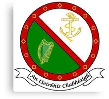 Irish Naval Service Canvas Print