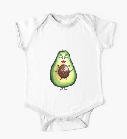Babyseed Avocado  One Piece - Short Sleeve