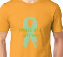 Kidney Disease - Chevron Unisex T-Shirt