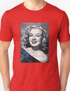 Marilyn Monroe with a bit of smoke Unisex T-Shirt