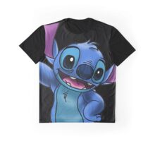 Experiment 626 (Stitch) Zoomed In Graphic T-Shirt
