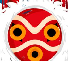 Mononoke Mask Sticker