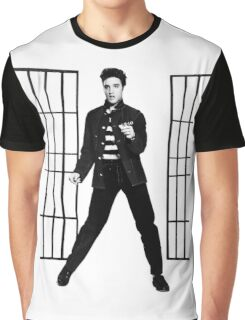 Elvis Presley Jailhouse Rock Graphic T-Shirt