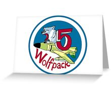 Wolfpack - Cadet Squadron 5 Greeting Card