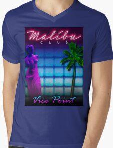 Malibu Club VC Mens V-Neck T-Shirt