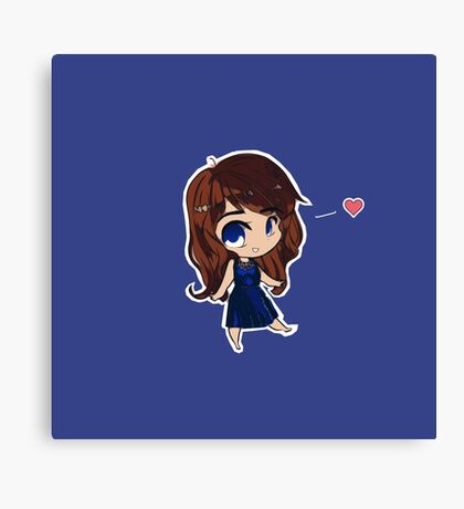 Chibi Belle! Canvas Print