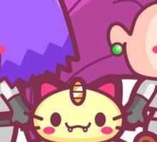 Chibi Team Rocket - Pokemon Sticker