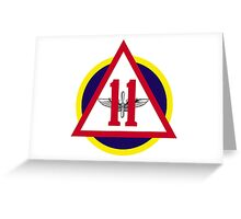 Rebeleven - Cadet Squadron 11 Greeting Card
