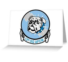 Bulldawgs - Cadet Squadron 13 Greeting Card