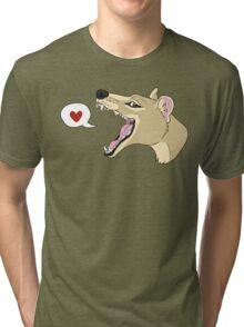 Thylacine <3 Tri-blend T-Shirt