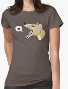 Thylacine <3 Womens Fitted T-Shirt
