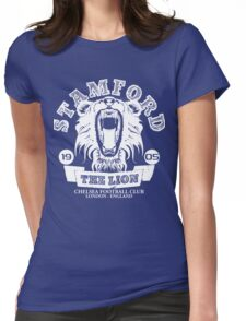 Chelsea FC Stamford The Lion Womens Fitted T-Shirt