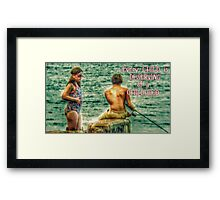 Every Child Is Deserving Of A Childhood Framed Print