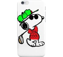 Snoopy Joe Cool and Golf iPhone Case/Skin